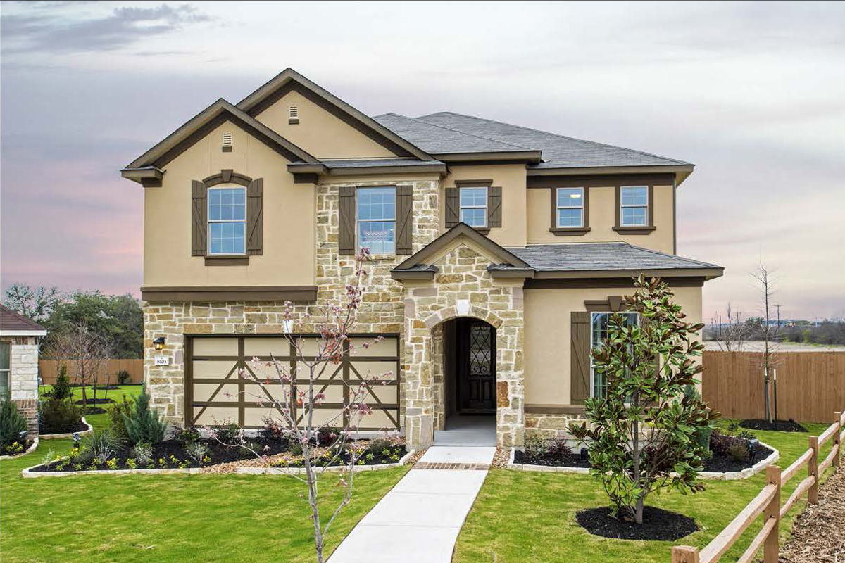 New Homes in San Antonio, TX - CrossCreek - Classic Collection The 3475