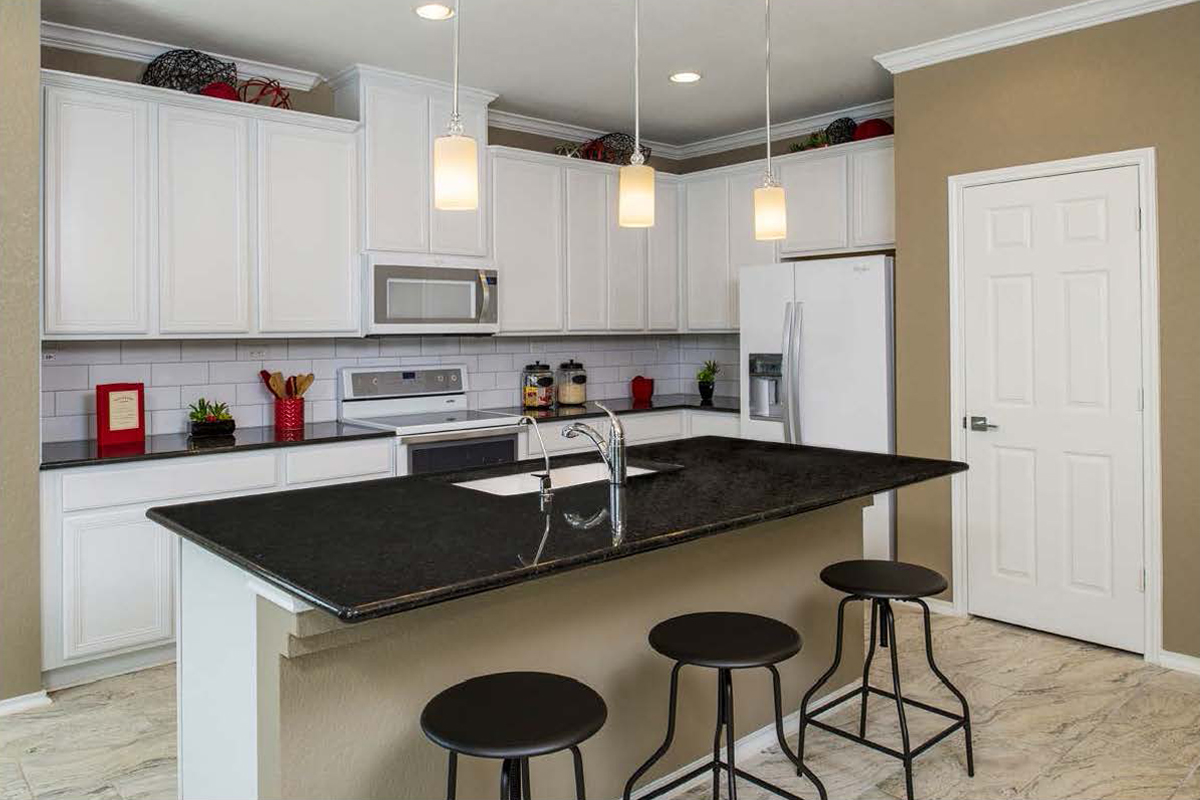 New Homes in San Antonio, TX - CrossCreek - Sterling and Heritage Collections The 1892 Kitchen