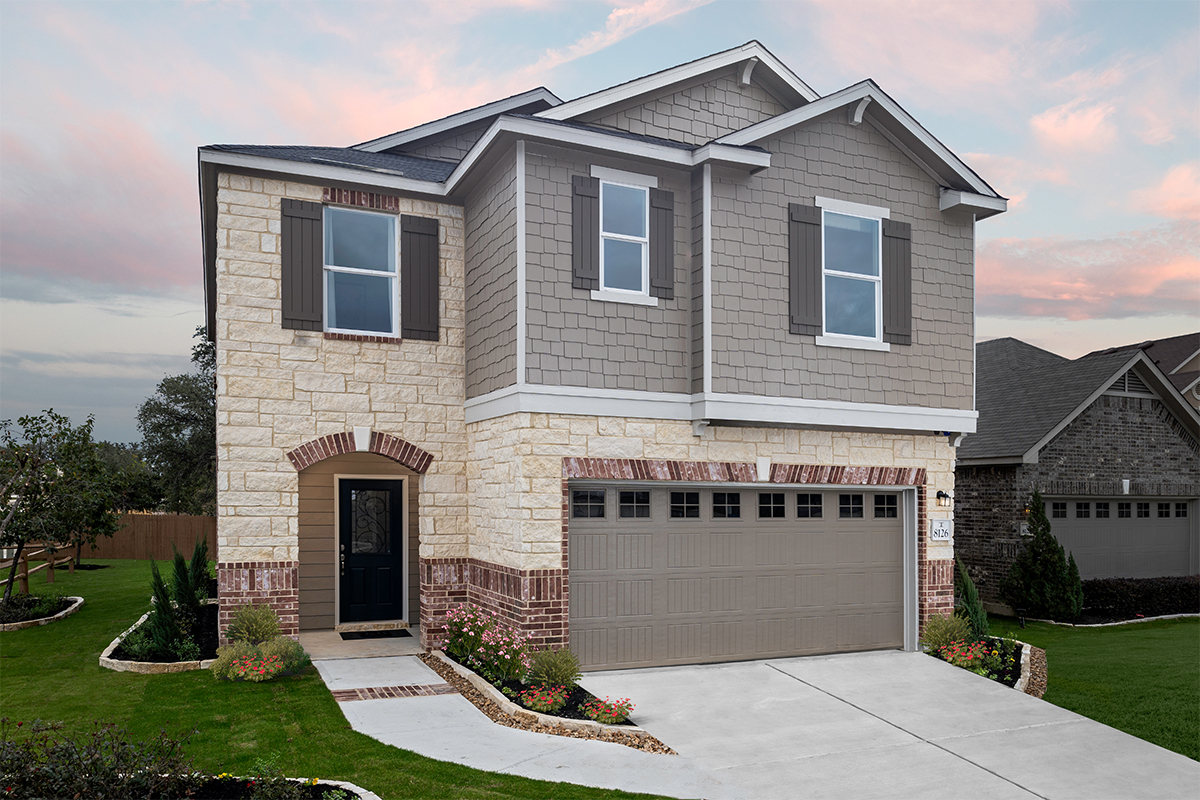 New Homes in San Antonio, TX - CrossCreek - Sterling and Heritage Collections The 2088