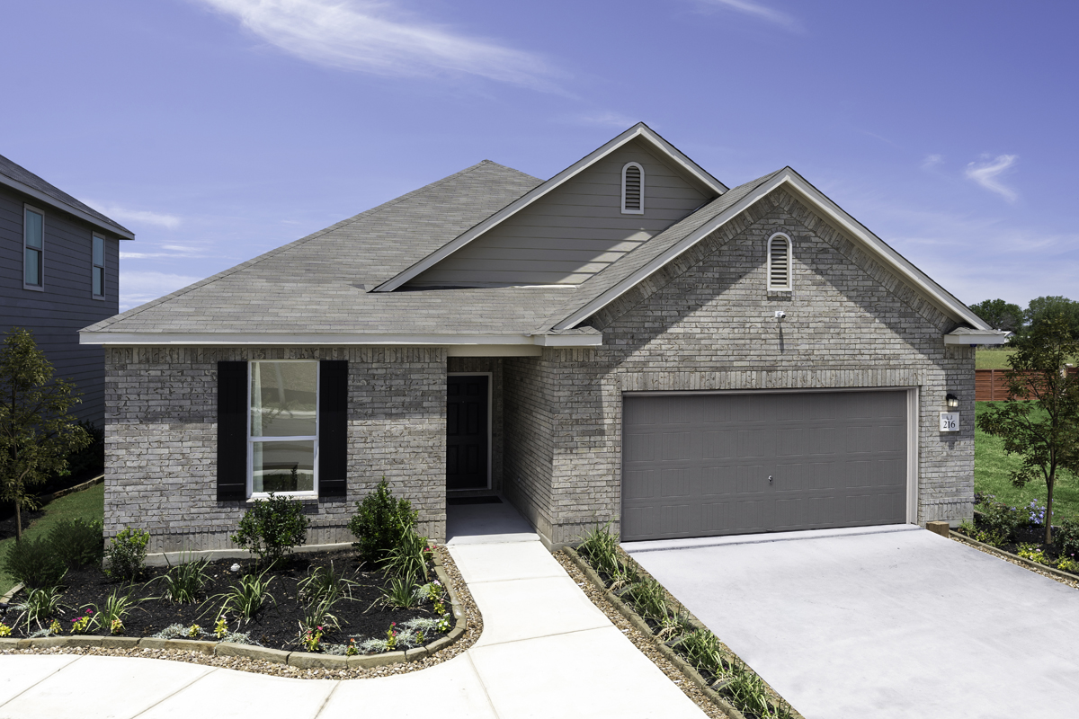 New Homes in New Braunfels, TX - Deer Crest - Classic Collection Plan 1675