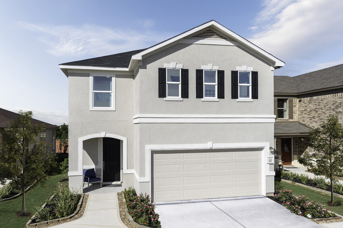 New Homes in New Braunfels, TX - Deer Crest - Heritage Collection Plan 2088