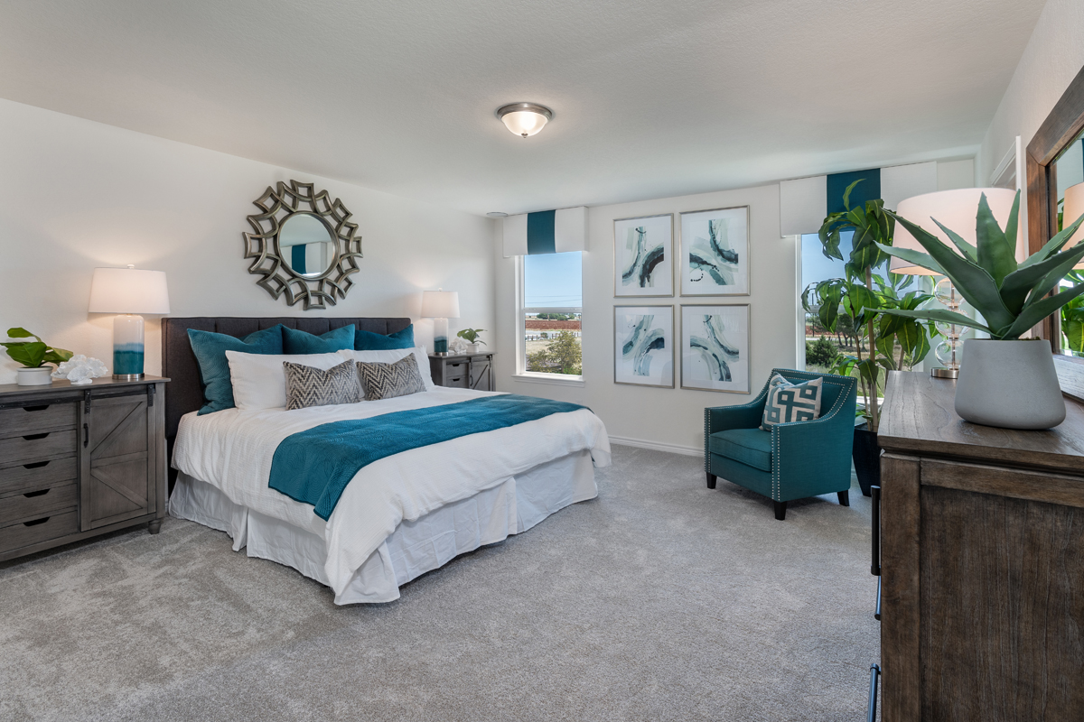 New Homes in New Braunfels, TX - Deer Crest - Heritage Collection Plan 2088 Master Bedroom