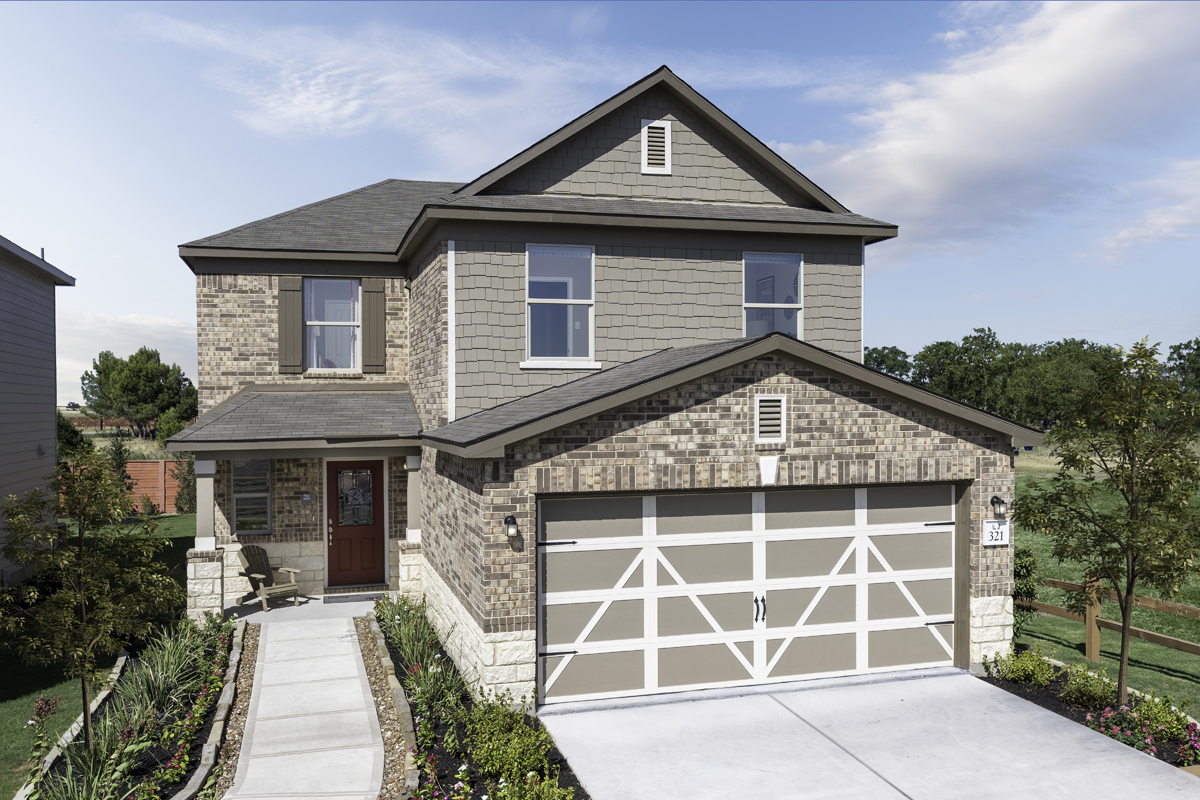 New Homes in New Braunfels, TX - Deer Crest - Heritage Collection Plan 2239