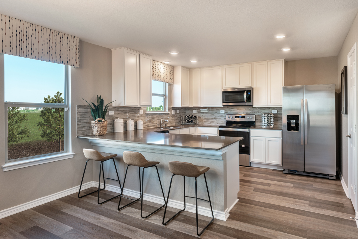 New Homes in New Braunfels, TX - Deer Crest - Heritage Collection Plan 2239 Kitchen