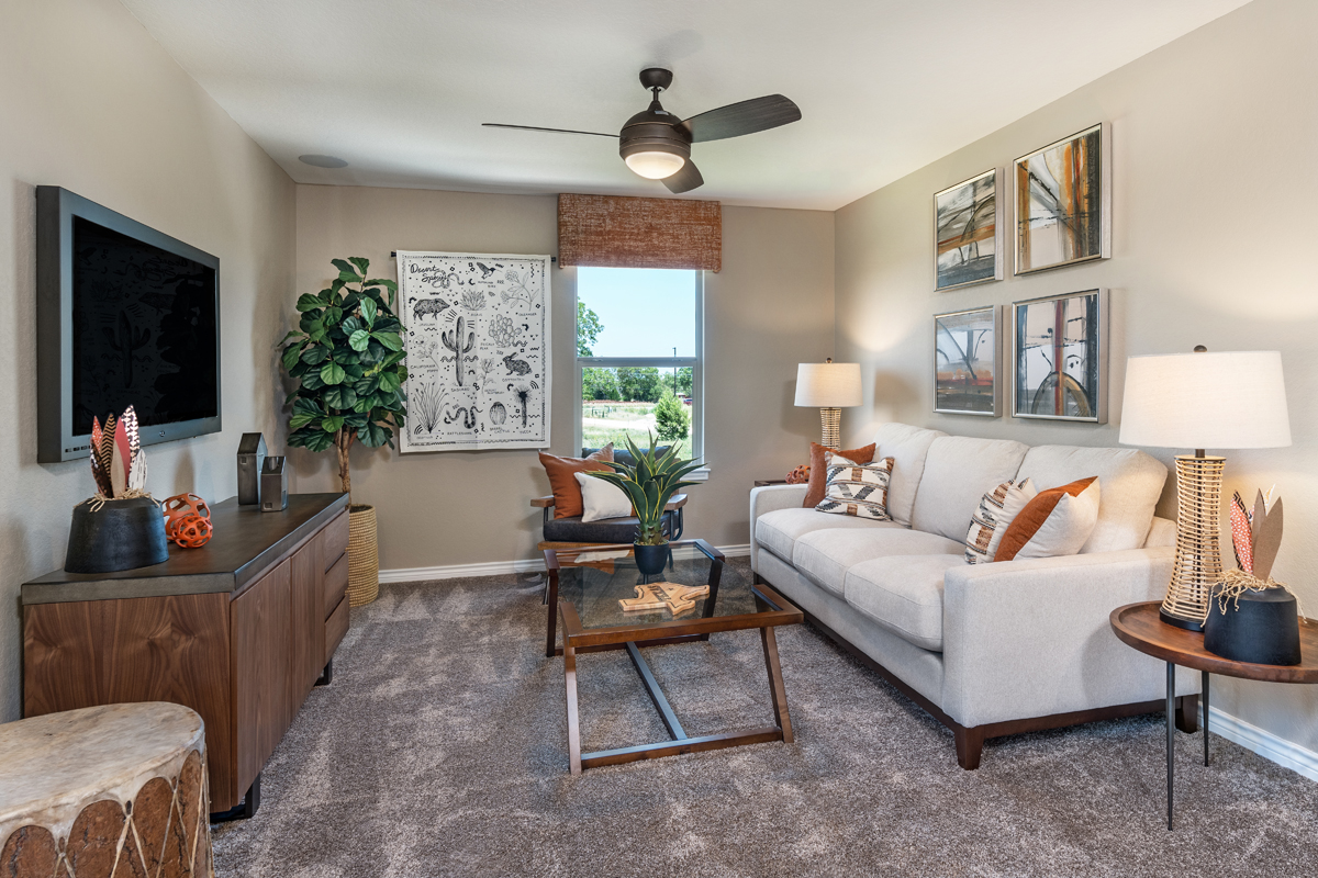 New Homes in New Braunfels, TX - Deer Crest - Heritage Collection Plan 2239 Loft