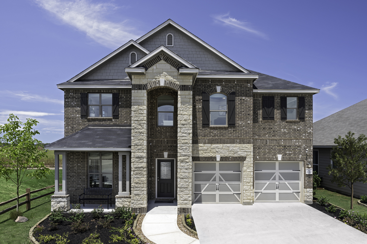 New Homes in New Braunfels, TX - Deer Crest - Classic Collection Plan 2755