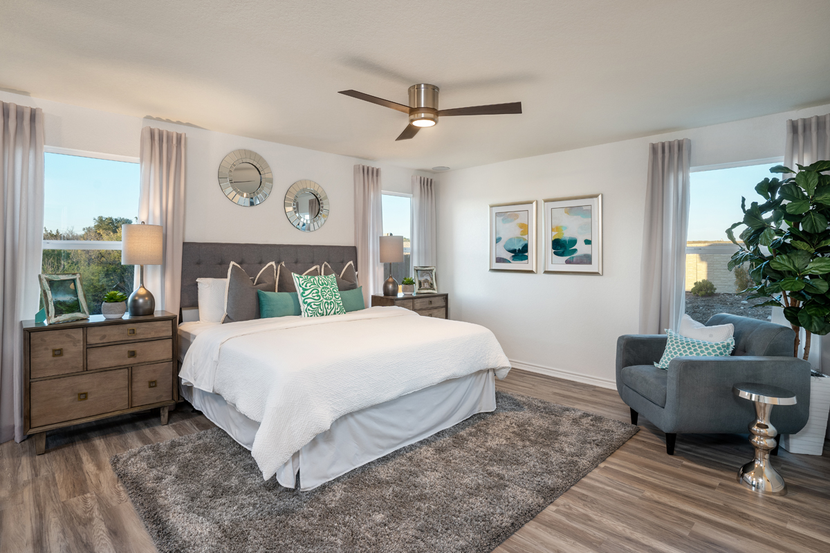New Homes in San Antonio, TX - Dove Heights The 1694 Master Bedroom