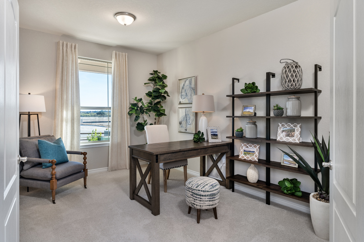 New Homes in San Antonio, TX - Dove Heights The 2403 Study