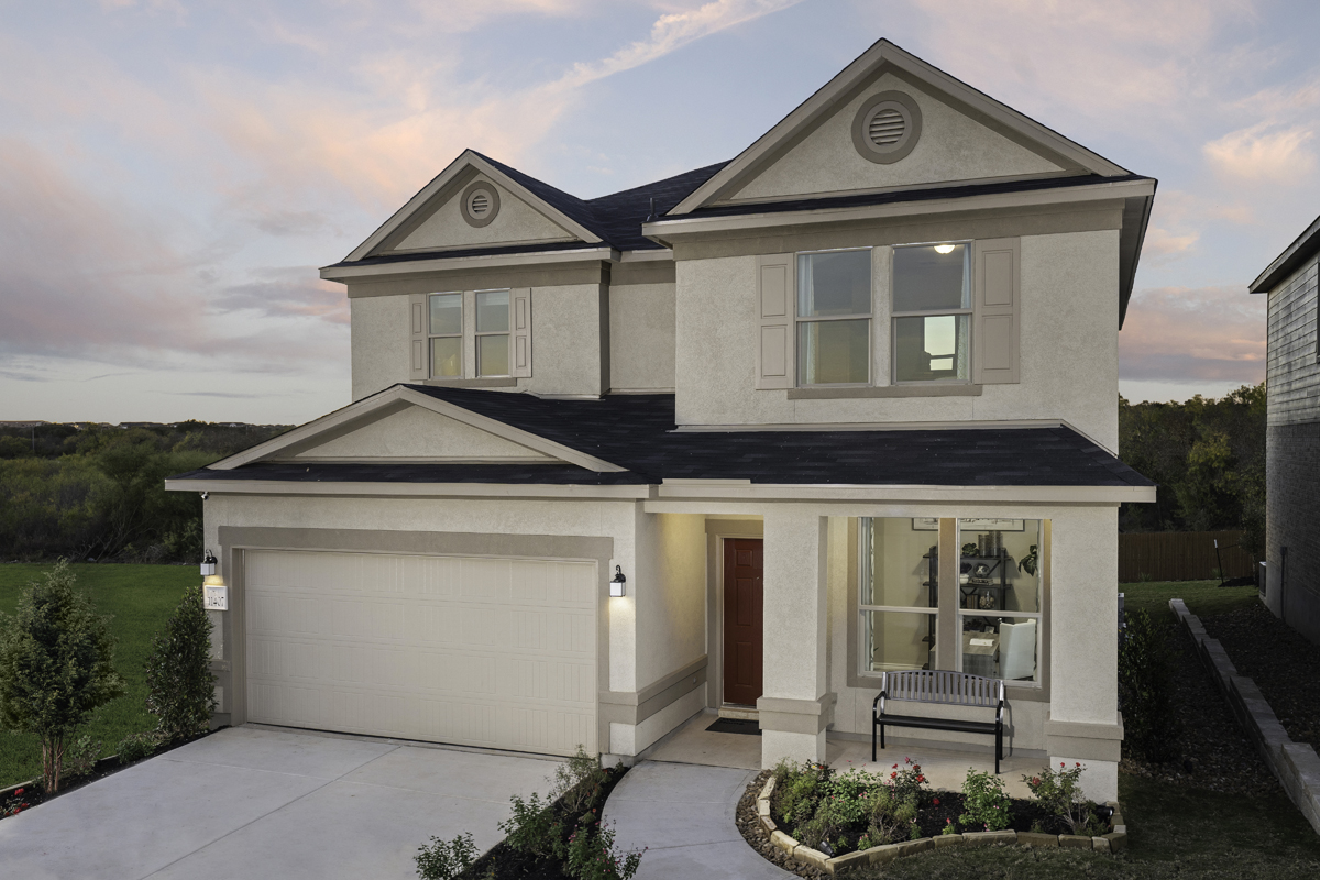 New Homes in Seguin, TX - Woodside Farms Plan 2700