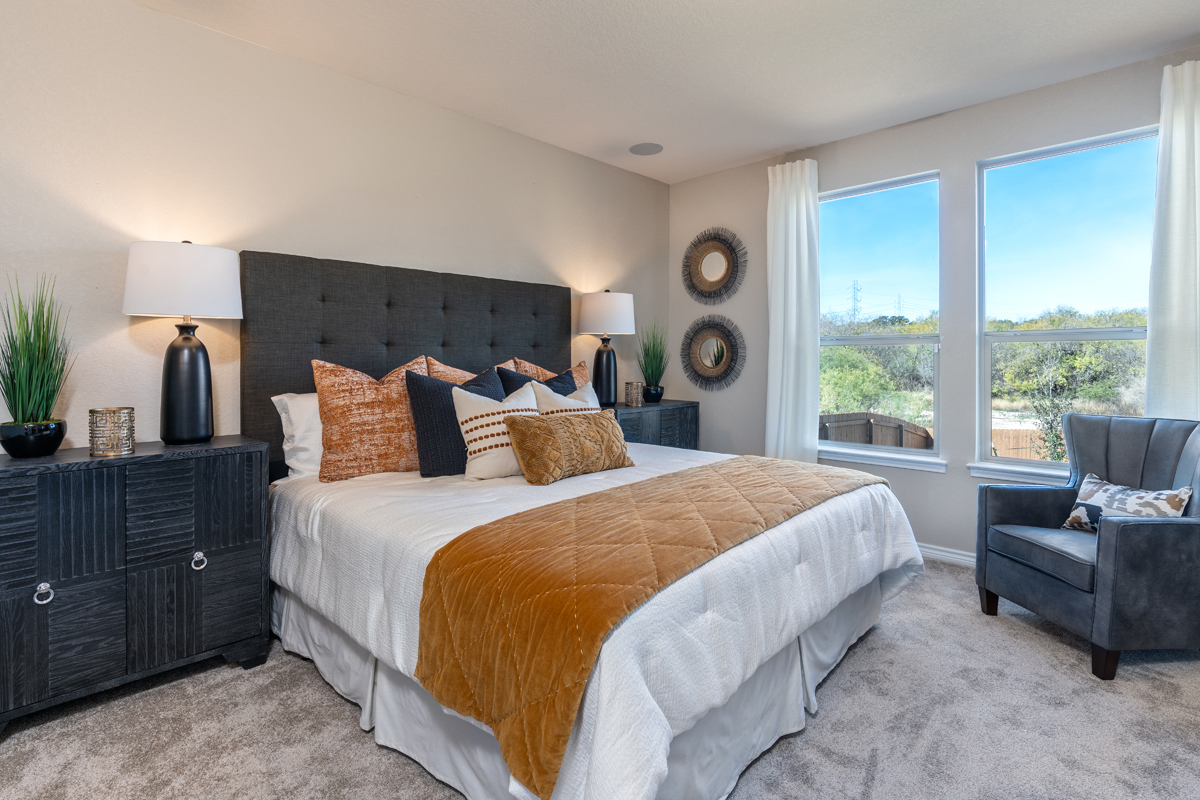 New Homes in San Antonio, TX - Dove Heights The 2700 Master Bedroom