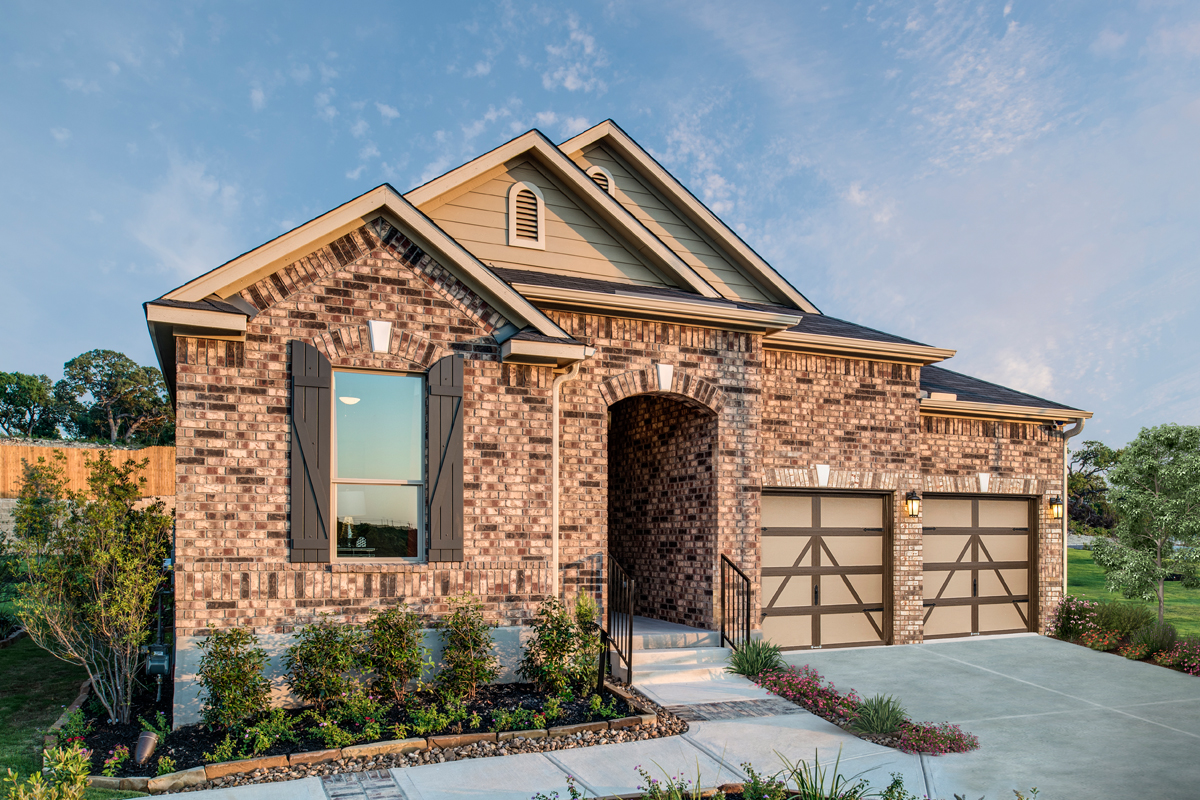 New Homes in Bulverde, TX - Plan 2004 Modeled