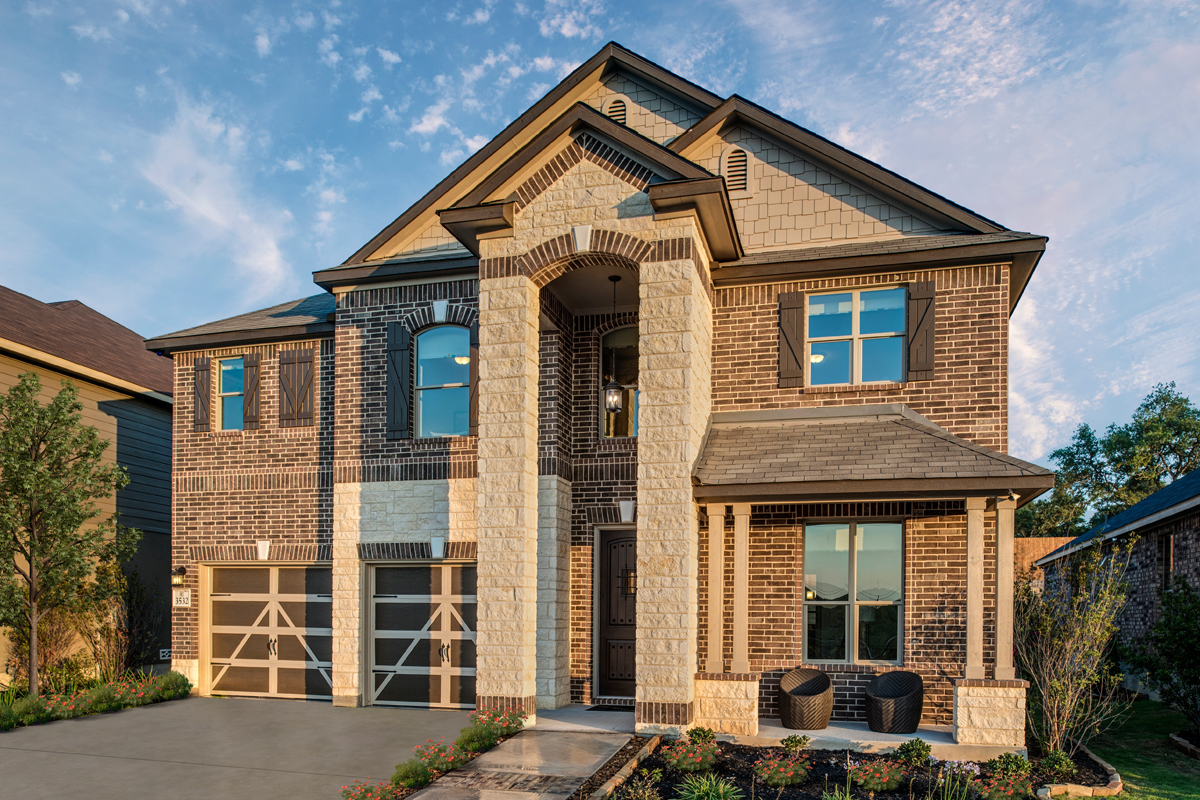 New Homes in Bulverde, TX - Edgebrook The 2755