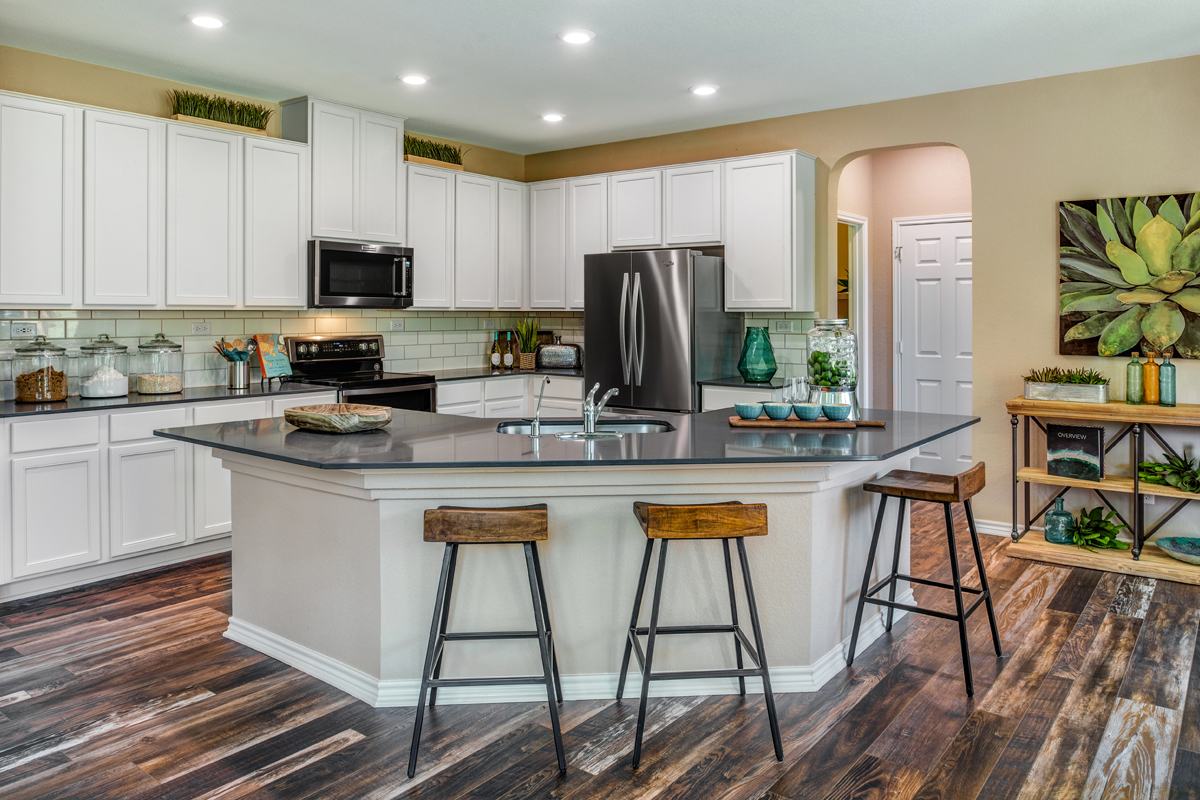New Homes in Bulverde, TX - Edgebrook The 2755 Kitchen