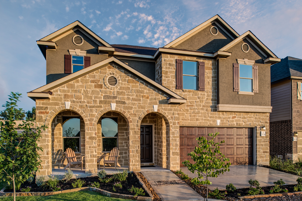 New Homes in Bulverde, TX - Edgebrook The 3125