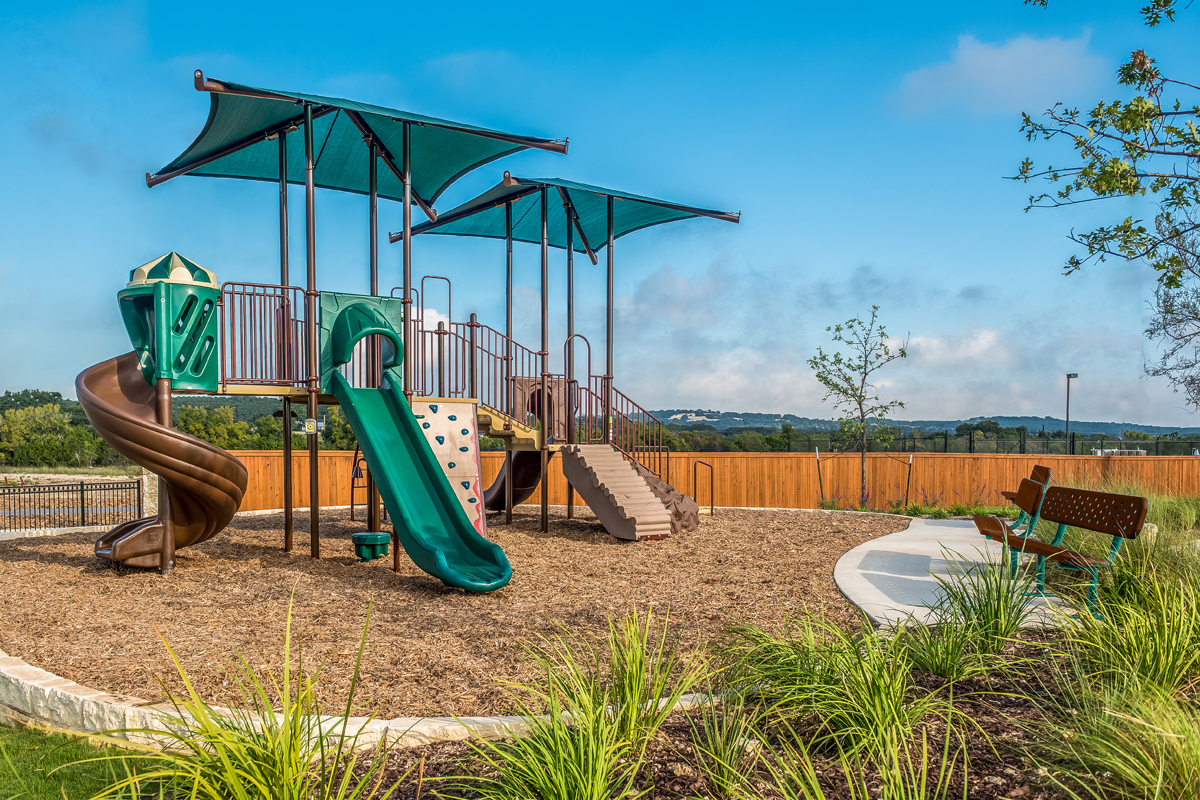New Homes in Bulverde, TX - Edgebrook Community Playground