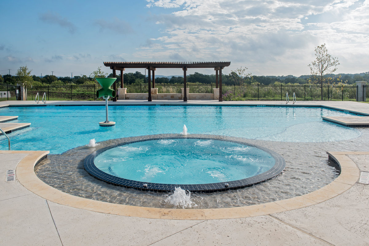 New Homes in Bulverde, TX - Edgebrook Community Pool