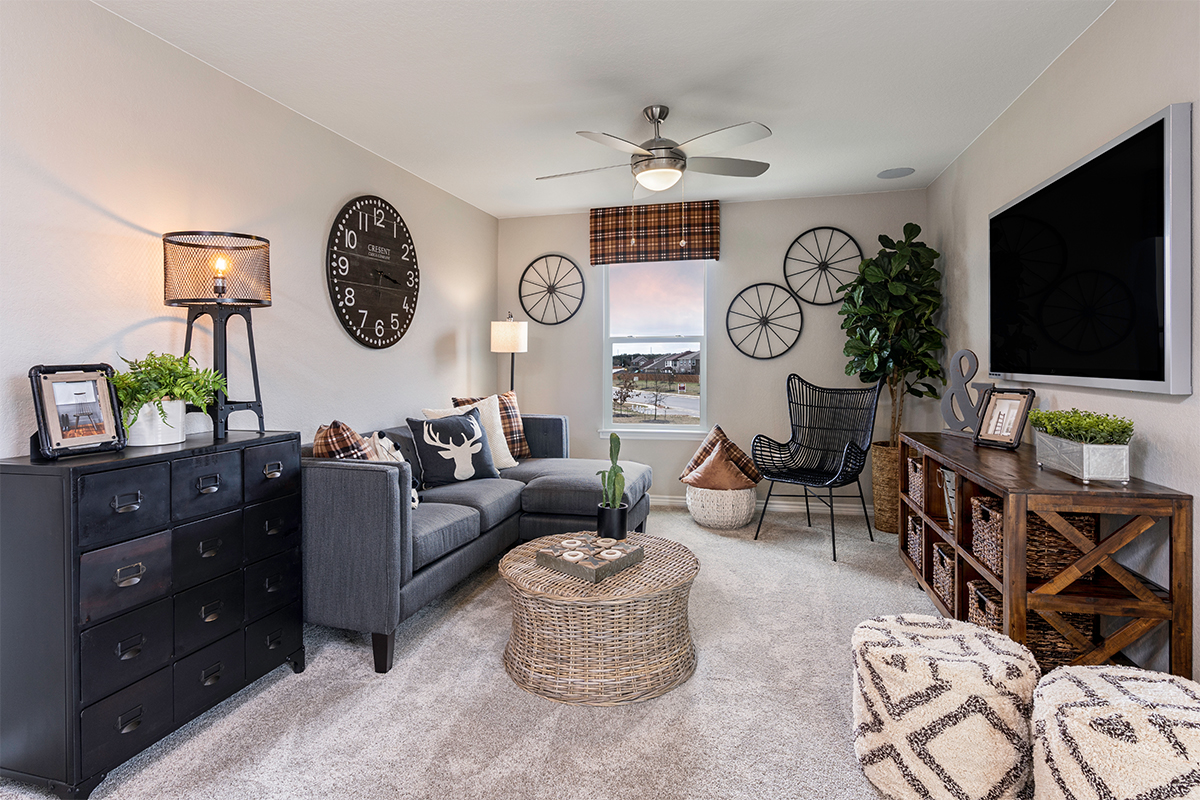 New Homes in San Antonio, TX - Falcon Landing The 2239 Loft