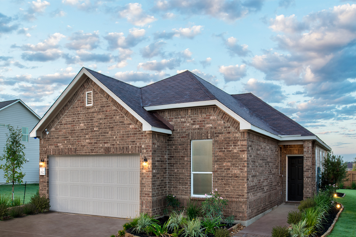 New Homes in San Antonio, TX - Plan 1694 Modeled