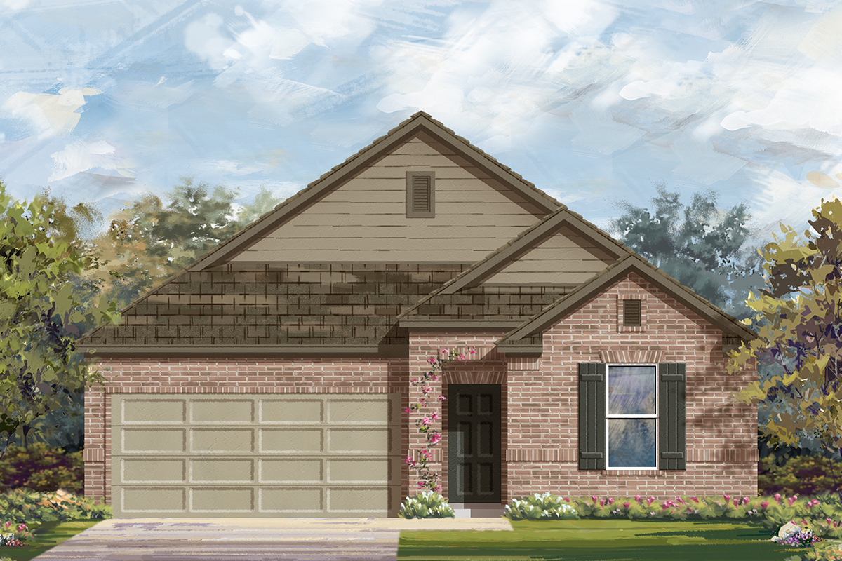 New Homes in San Antonio, TX - The 1491 B
