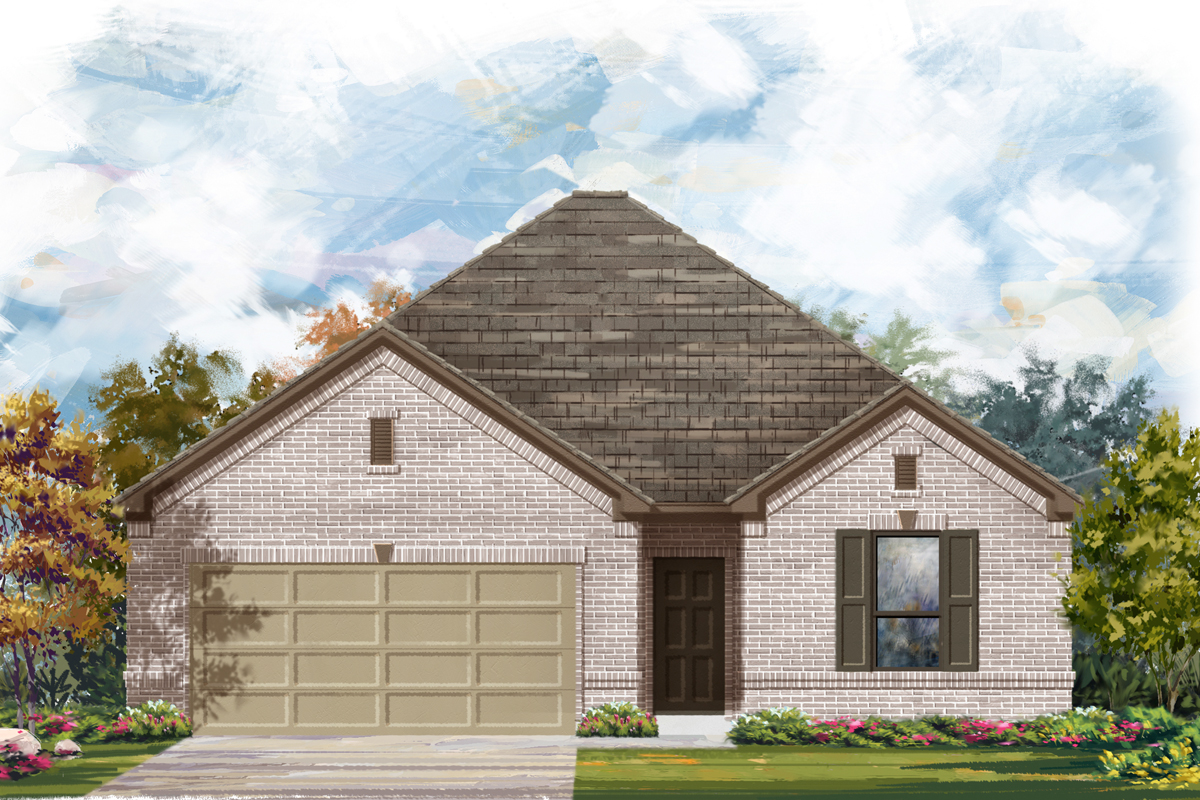 New Homes in San Antonio, TX - The 1675 A