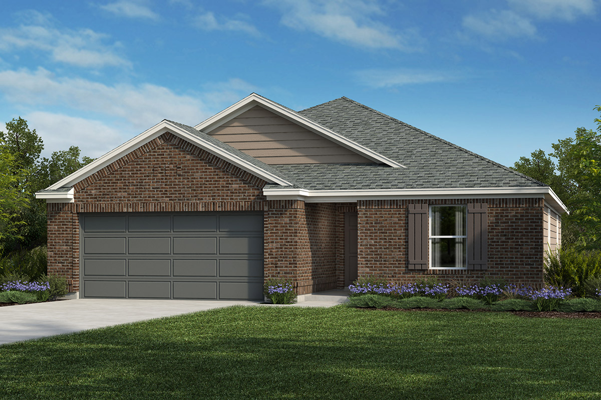 New Homes in San Antonio, TX - The 1675 B