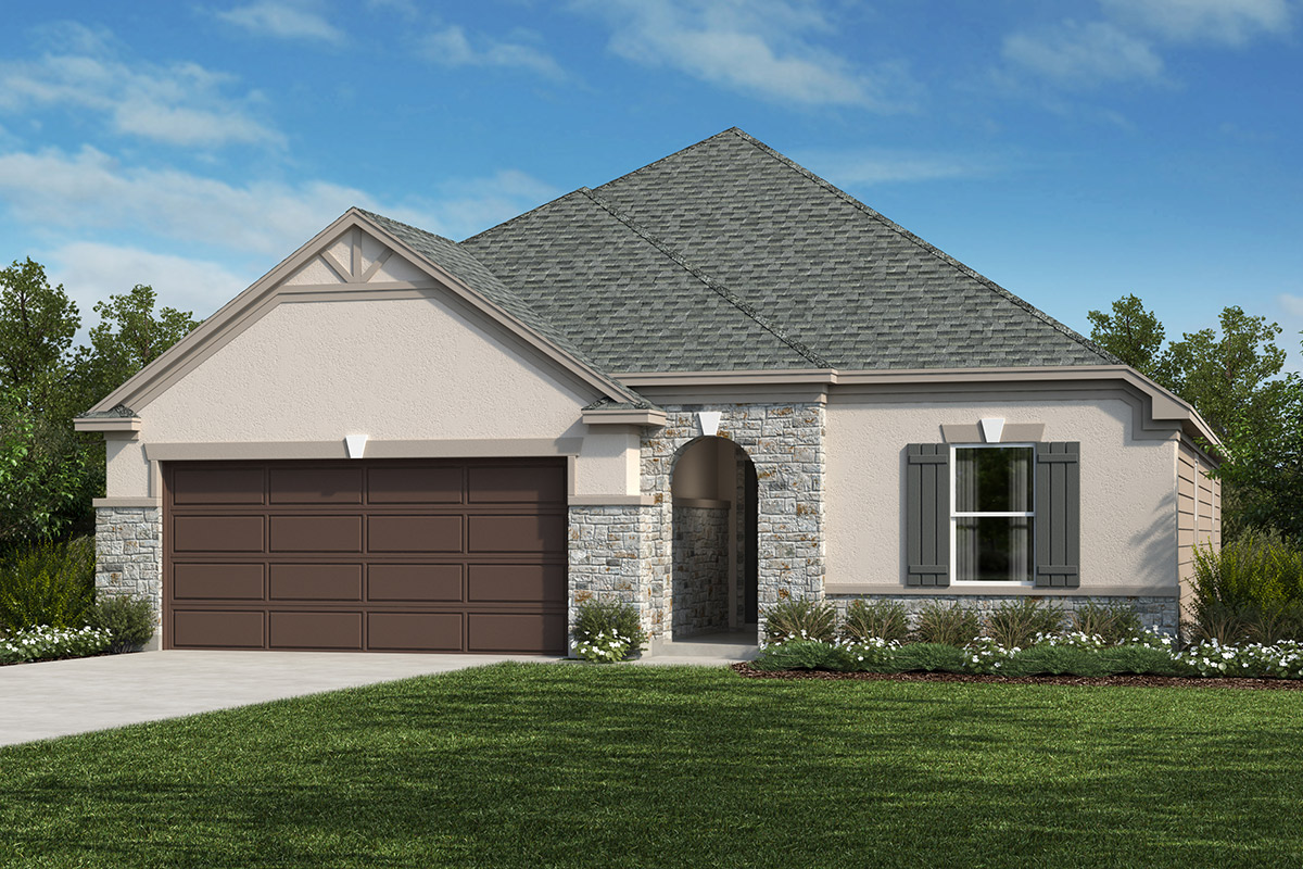 New Homes in San Antonio, TX - The 1675 D
