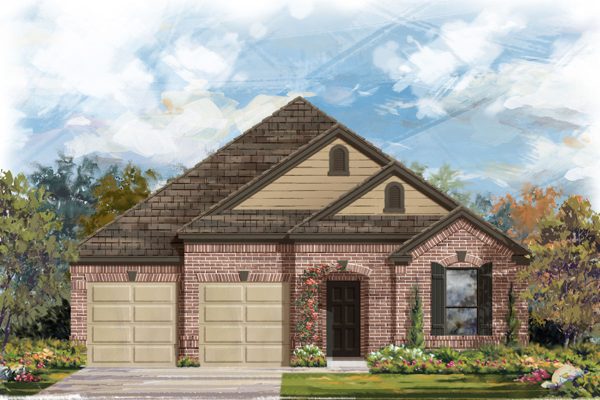 New Homes in New Braunfels, TX - Elevation B