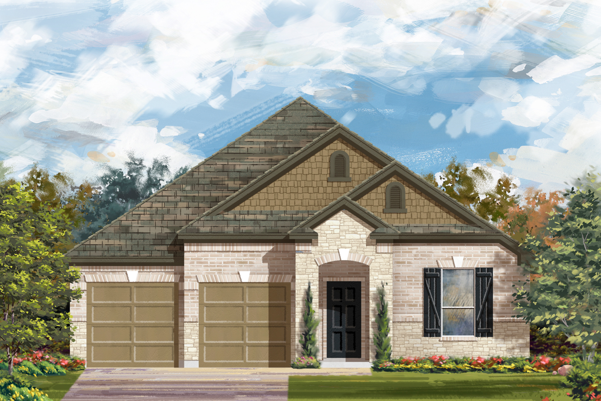 New Homes in New Braunfels, TX - Elevation C