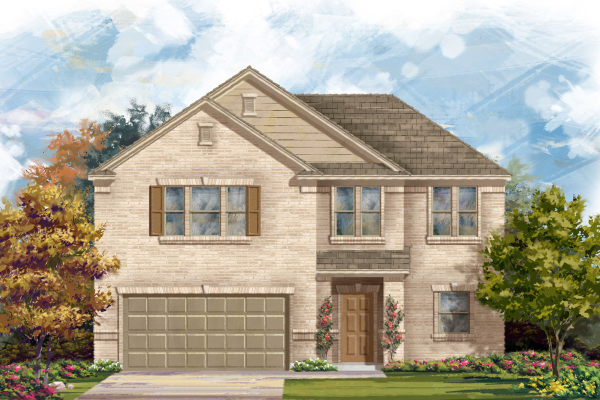 New Homes in Helotes, TX - Plan 2183 A
