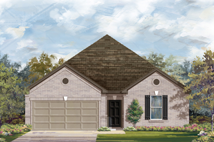 New Homes in New Braunfels, TX - The 2382 B