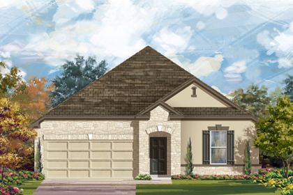 New Homes in New Braunfels, TX - The 2382 D