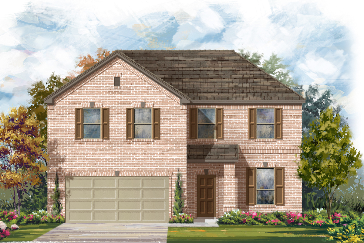 New Homes in San Antonio, TX - Canyon Crest The 2469 A