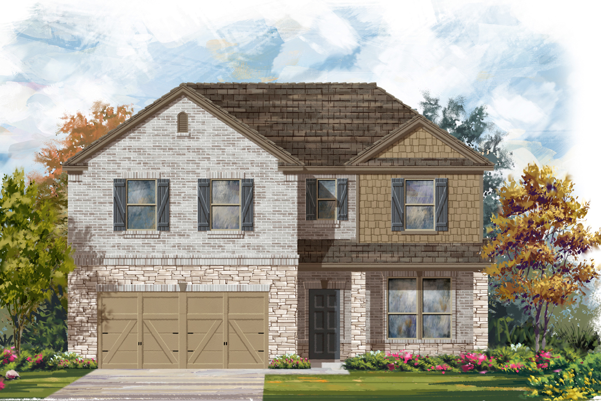 New Homes in San Antonio, TX - Canyon Crest The 2469 C