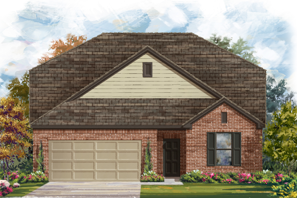 New Homes in San Antonio, TX - The 2655 A