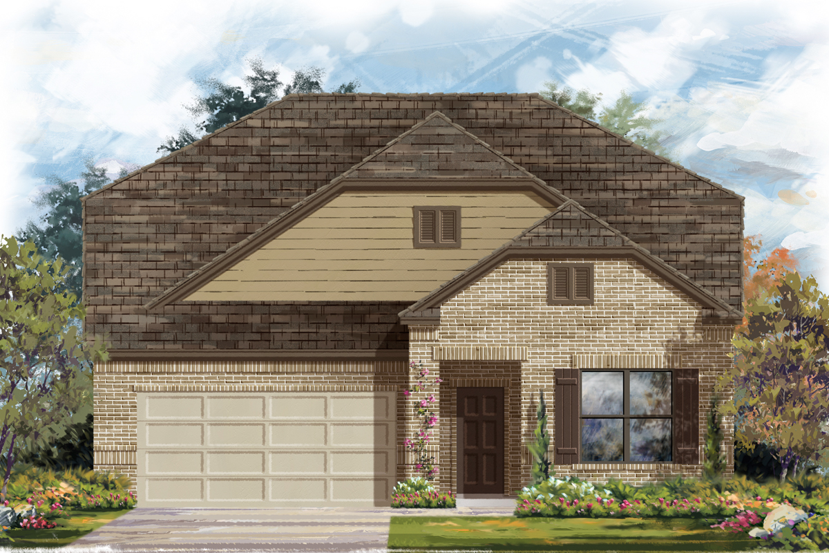 New Homes in San Antonio, TX - The 2655 B
