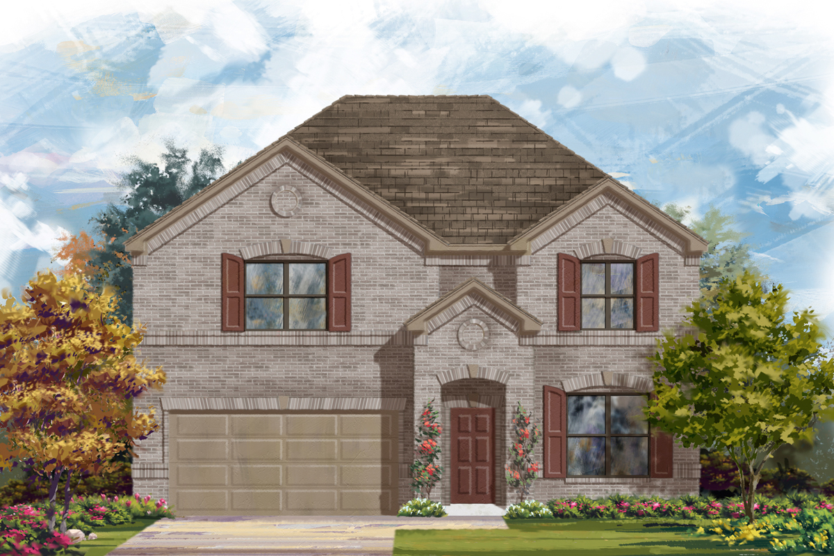 New Homes in San Antonio, TX - The 2755 A