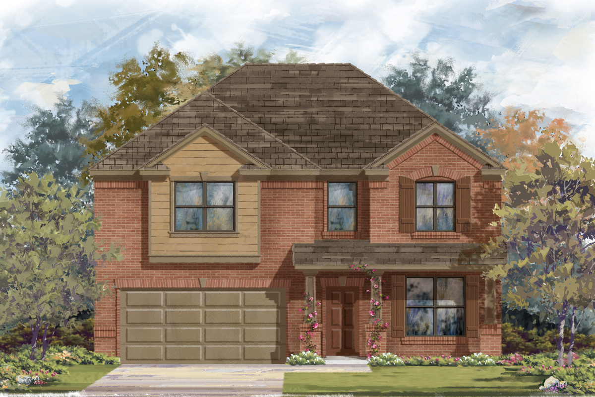 New Homes in San Antonio, TX - The 2755 B