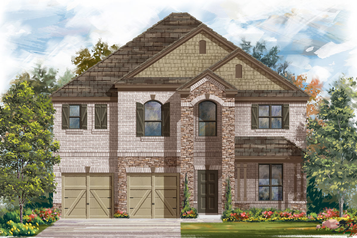 New Homes in Cibolo, TX - Elevation C