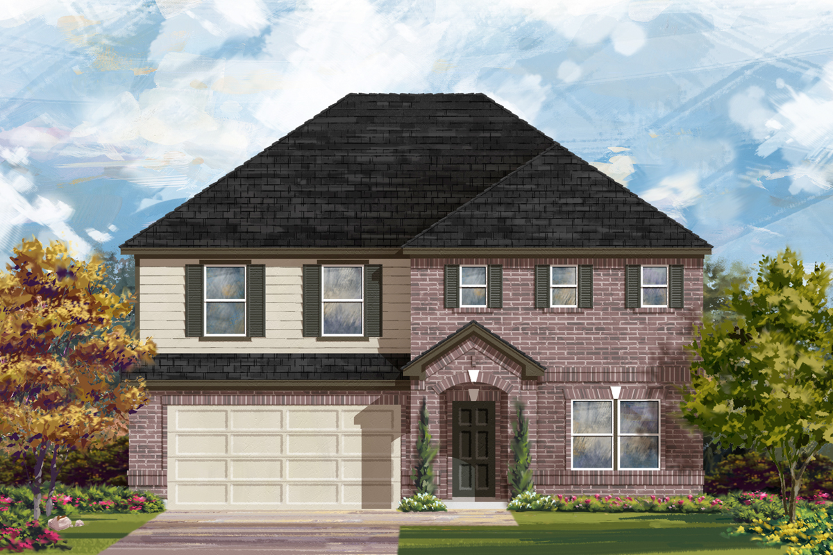 New Homes in San Antonio, TX - Canyon Crest The 2881 A
