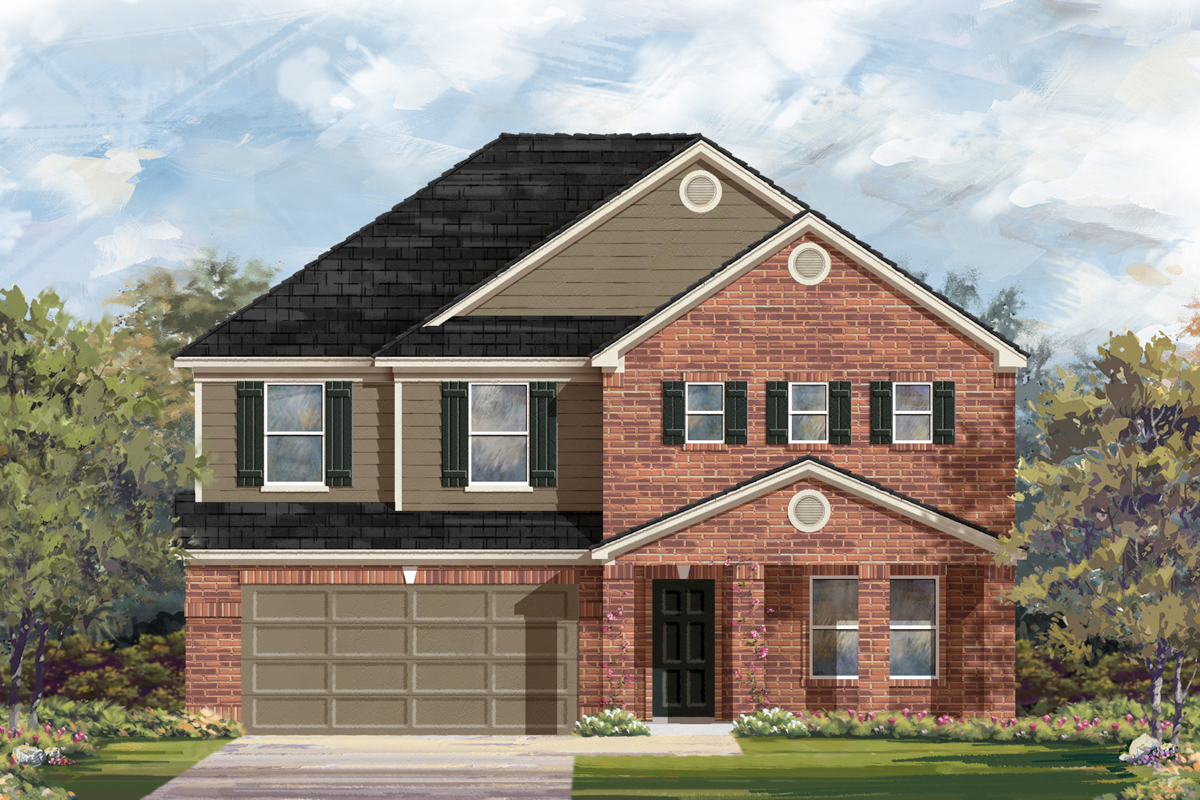 New Homes in San Antonio, TX - Canyon Crest The 2881 B
