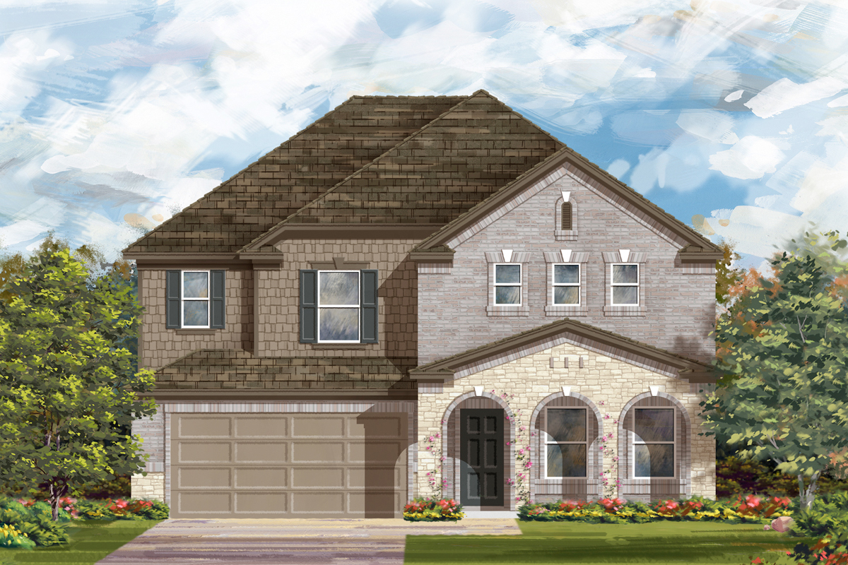 New Homes in San Antonio, TX - Canyon Crest The 2881 C
