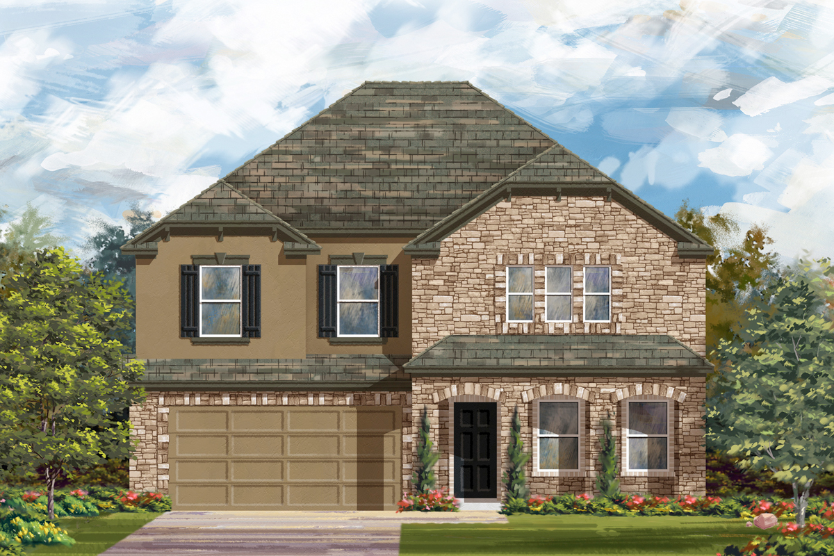 New Homes in San Antonio, TX - Canyon Crest The 2881 D