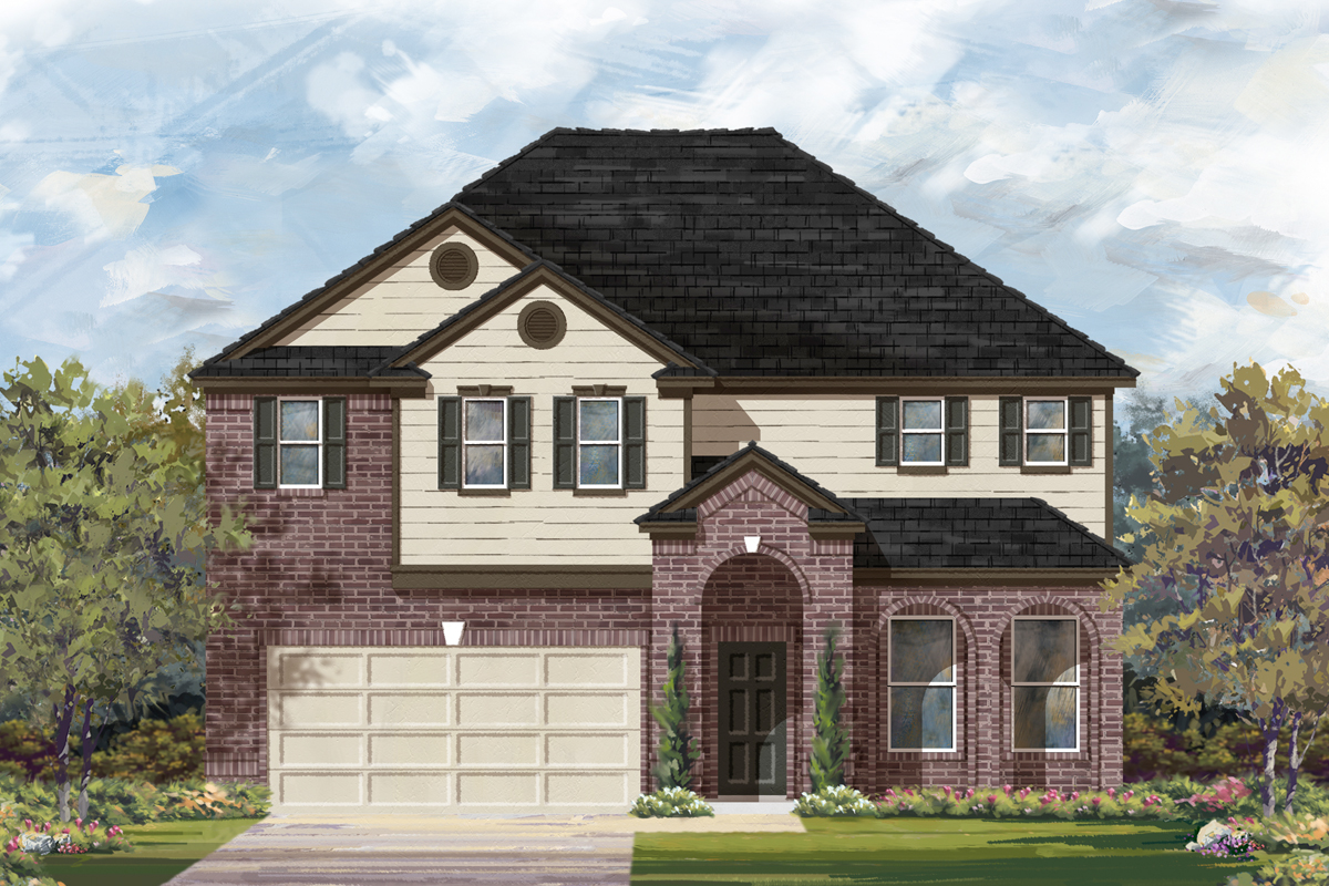 New Homes in San Antonio, TX - The 3023 A
