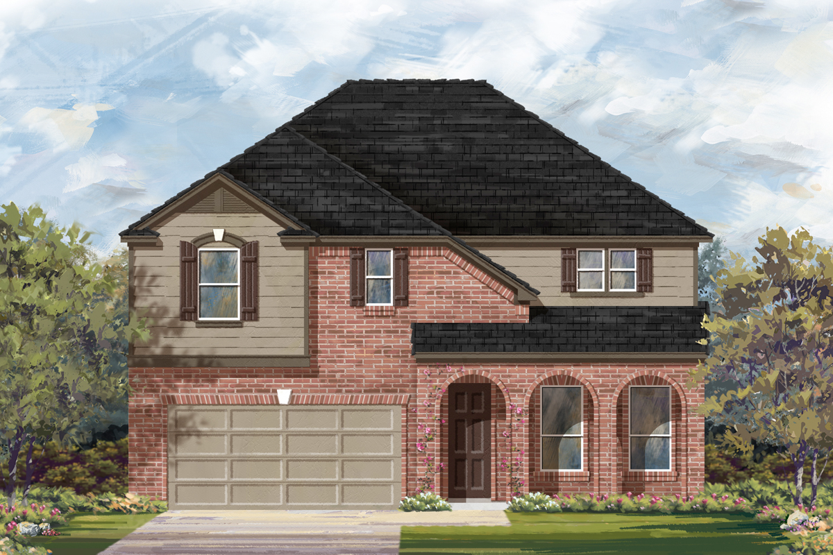 New Homes in San Antonio, TX - The 3023 B