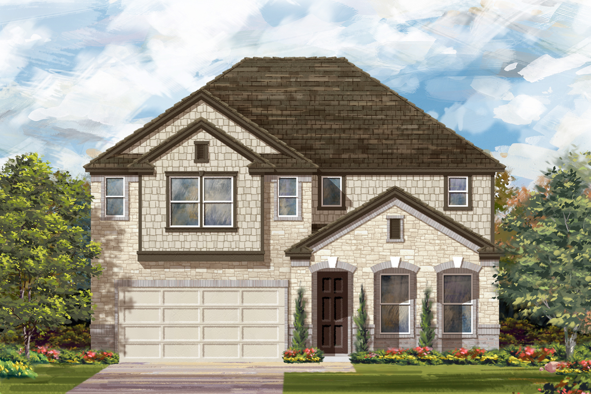 New Homes in San Antonio, TX - The 3023 C