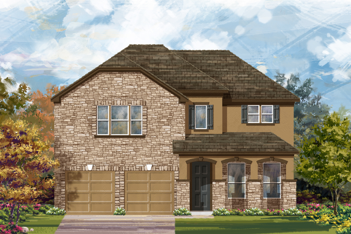 New Homes in San Antonio, TX - The 3023 D