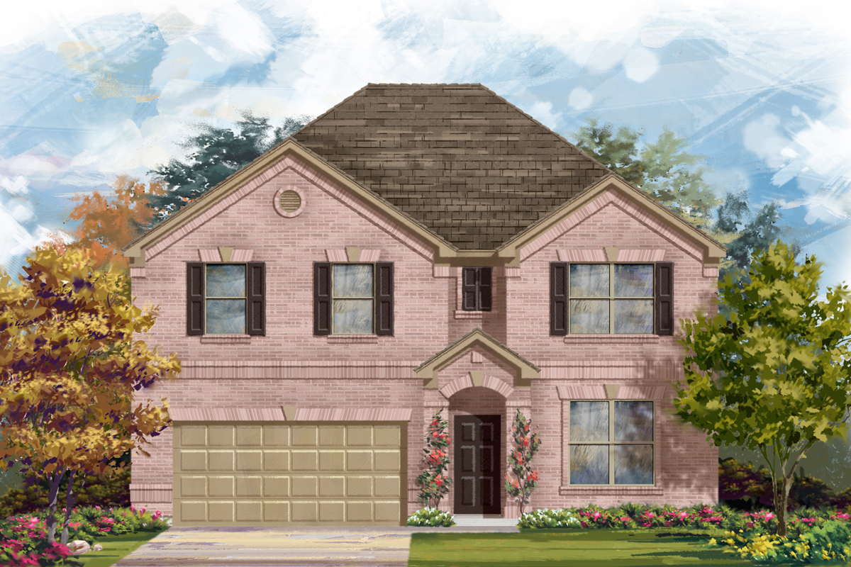 New Homes in San Antonio, TX - The 3125 A