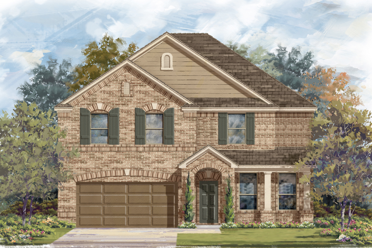 New Homes in San Antonio, TX - The 3125 B
