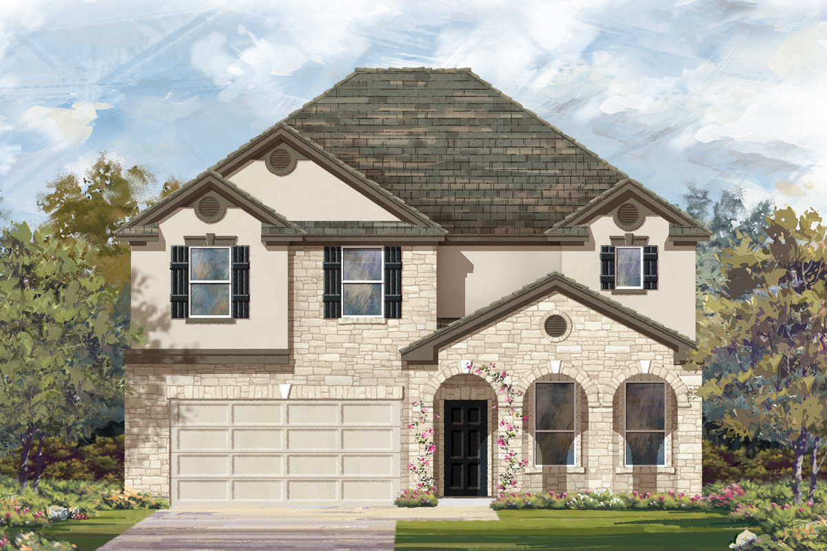 New Homes in San Antonio, TX - The 3125 D