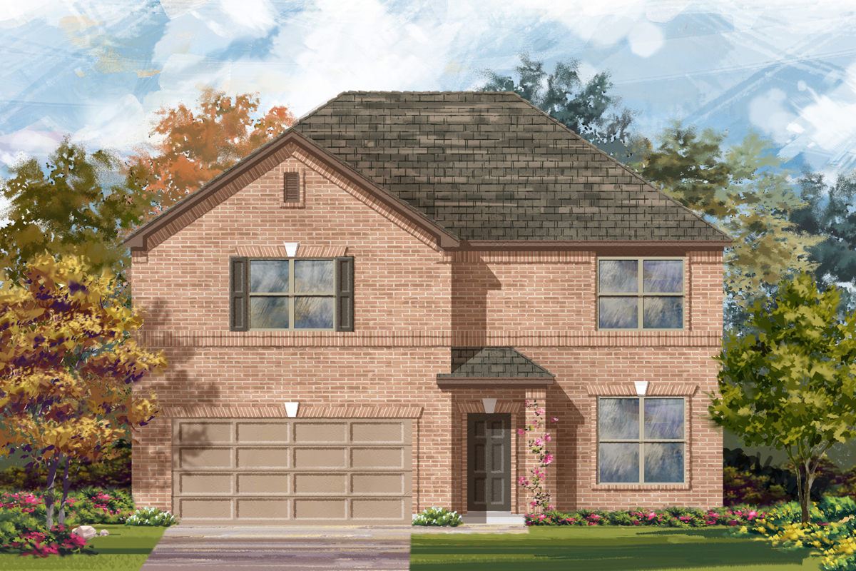 New Homes in San Antonio, TX - Elevation A